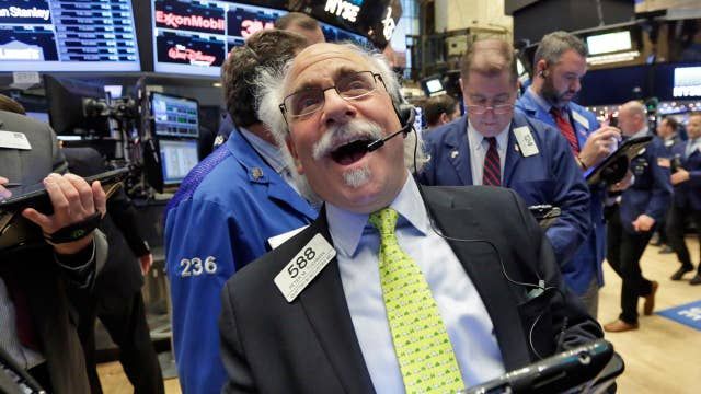 Wall Street's record day, consumer sentiment on the rise