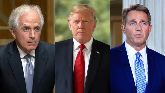 Corker, Flake feud with Trump won't hamper tax cuts: Grover Norquist