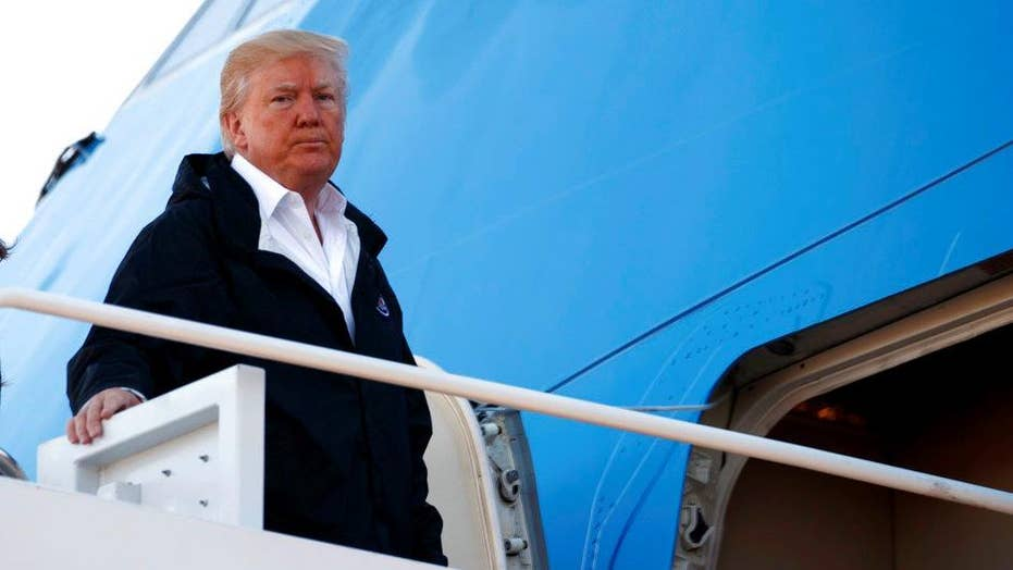 Trump on Las Vegas: We'll be talking about gun laws as time goes by