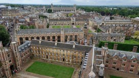 Oxford University constituent college bans Christian group