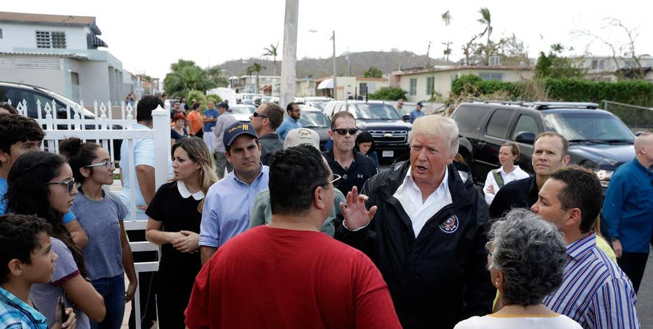 GOP communications strategist Lee Carter and Independent Journal Review's Erin McPike on President Trump's meeting with Puerto Rico officials.