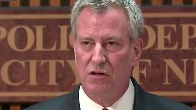 NYC mayor: We will not be moved by terror