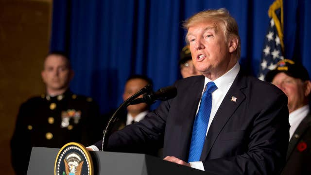 Trump talks tough on trade during Asia trip