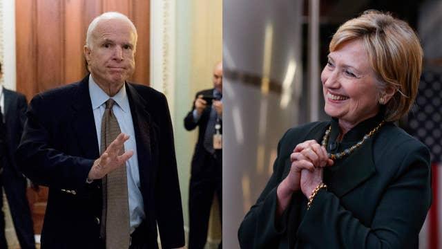 Sen. John McCain to Hillary Clinton: Move on