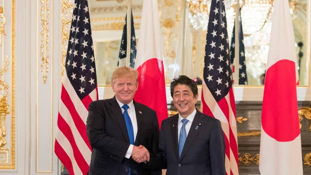 Trump: We're 'deeply investing' in Japan's military