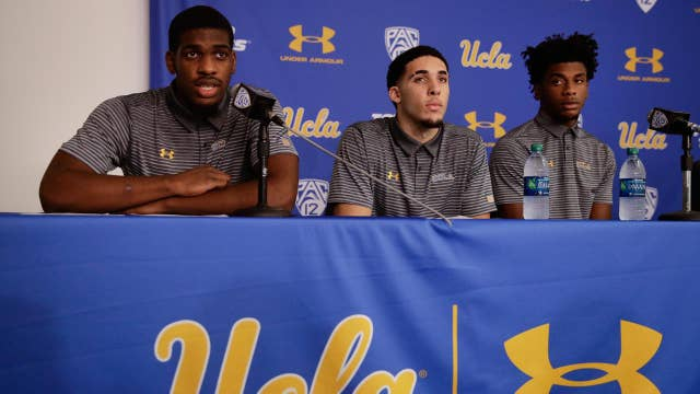 UCLA players thank Trump after release from China