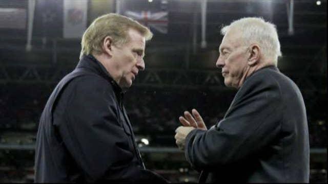 NFL matchup: Jerry Jones vs. Roger Goodell