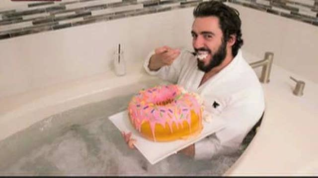 'Donut Disturb' package: Get a 10-pound donut delivered to your hotel room