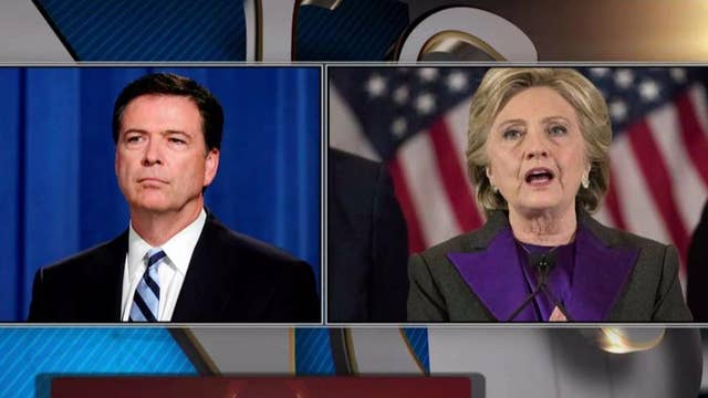 Comey changes draft memo language on Hillary Clinton