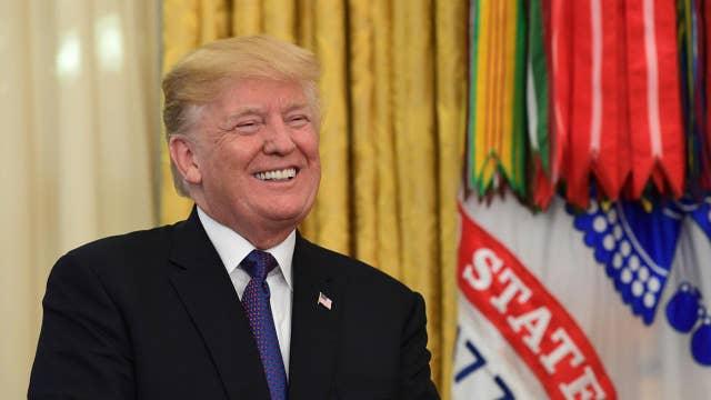 Trump applauds Senate committee for passing GOP tax bill