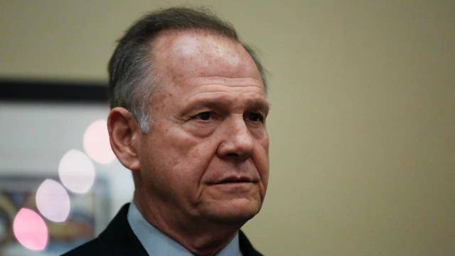 Roy Moore's refusal to quit Alabama Senate race could hurt the GOP