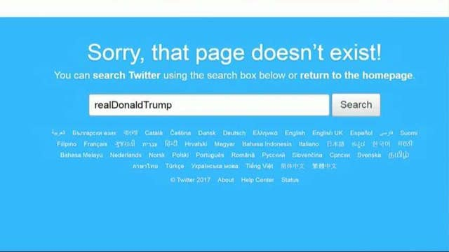 Trump account briefly silenced by rogue Twitter employee
