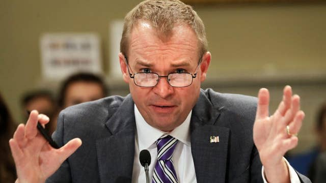 House tax bill could be passed this week: Mulvaney
