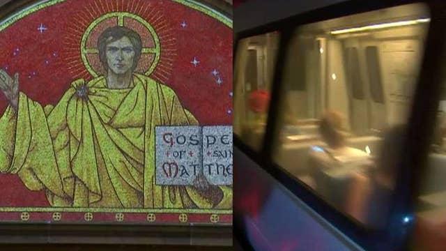 Catholic Church sues D.C. Metro over Christmas ad