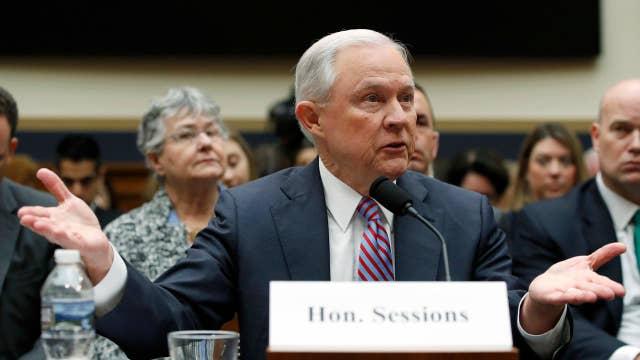 Sessions isn't leading or managing the DOJ: Dobbs