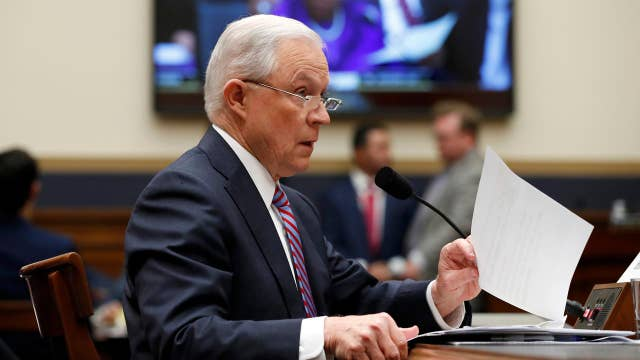 Sessions addresses White House leaks during testimony