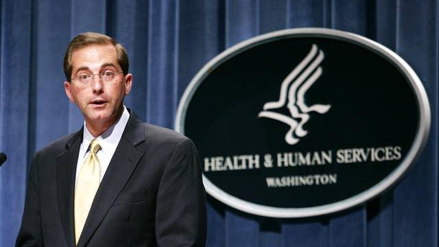 Trump taps Alex Azar as next HHS Secretary