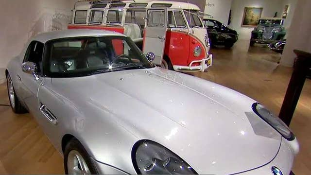 Apple co-founder Steve Jobs' BMW up for auction