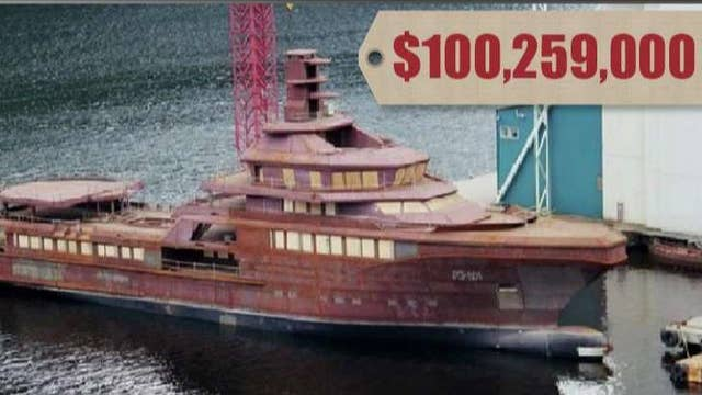 The luxury lifestyle of high-end yachts