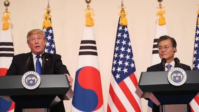 Trump: We're renegotiating 'disastrous' US-South Korea trade agreement