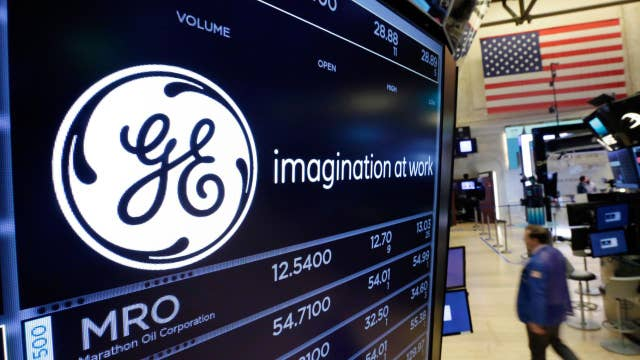 GE stock down on dividend cut