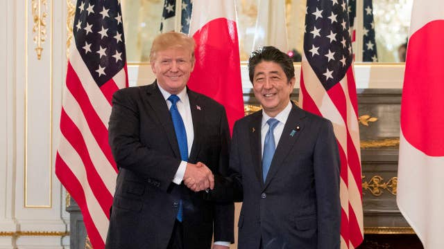 Japan supports Trump's stance on North Korea