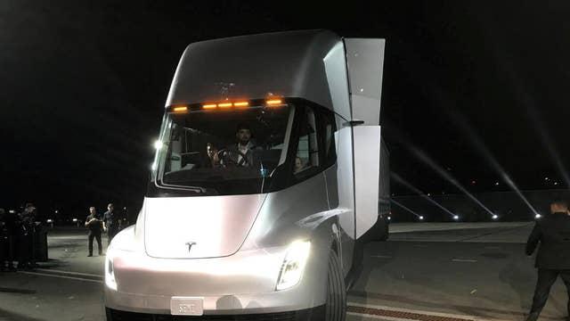 Revealed: Tesla's new electric semi truck