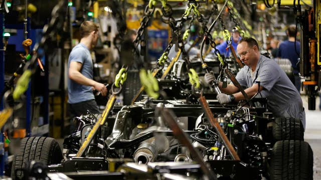 Manufacturing eases slightly in November