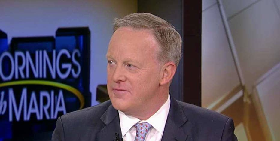 Former White House Press Secretary Sean Spicer on the tax reform bill, Republicans' messaging and actor Tom Hanks' comments about President Trump.