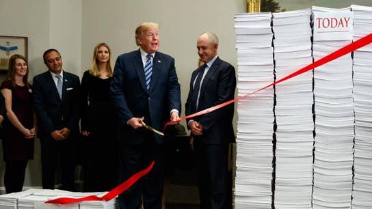 Trump triggers IRS cut of 298 tax regulations