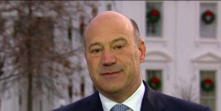 National economic council director Gary Cohn discusses the Republicans' tax reform plan, infrastructure initiatives and President Barack Obama taking credit for the economy.