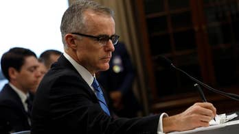 "Judicial Watch President Tom Fitton on acting FBI Director Andrew McCabe failing to appear before the House Intelligence Committee because of a ""scheduling error."""