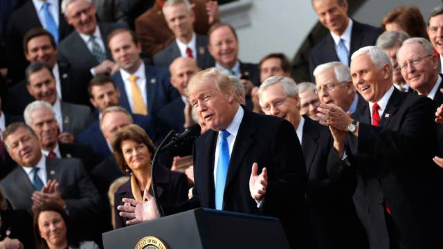 Trump: This is largest tax cut in history of our country