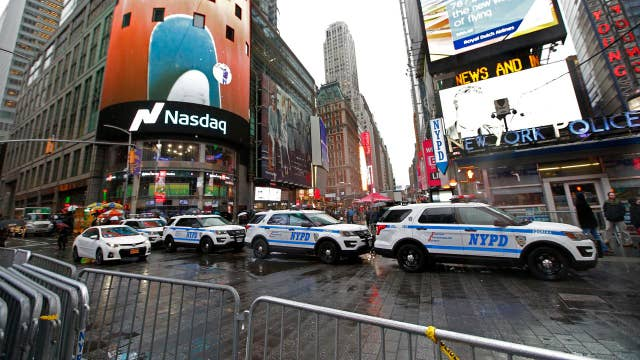 NYC tightens security for New Year's Eve celebration