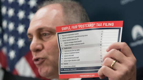 Final GOP tax plan to have 7 brackets for individuals