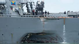 Naval officers facing court martial after 2 deadly collisions: Report