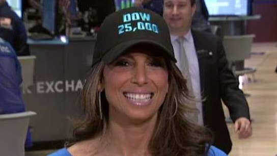 Dow hits 25K