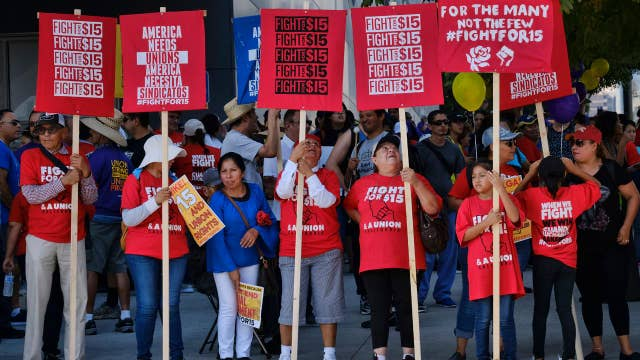 Minimum wage increase could actually hurt employees: fmr. McDonald's CEO