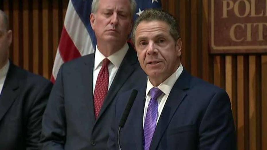 New York Gov. Cuomo proposes tax hikes