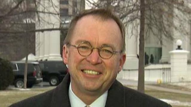 Government shutdown not likely: Mick Mulvaney