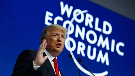 Trump delivers Davos speech to entice investment in US