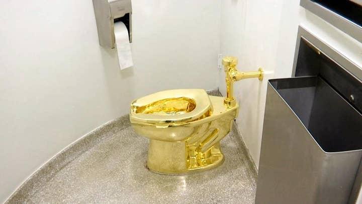 Museum offers Trump golden toilet but refused van Gogh's work: Report