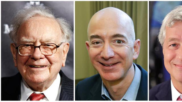 Amazon, Berkshire Hathaway, Chase join forces to disrupt health care