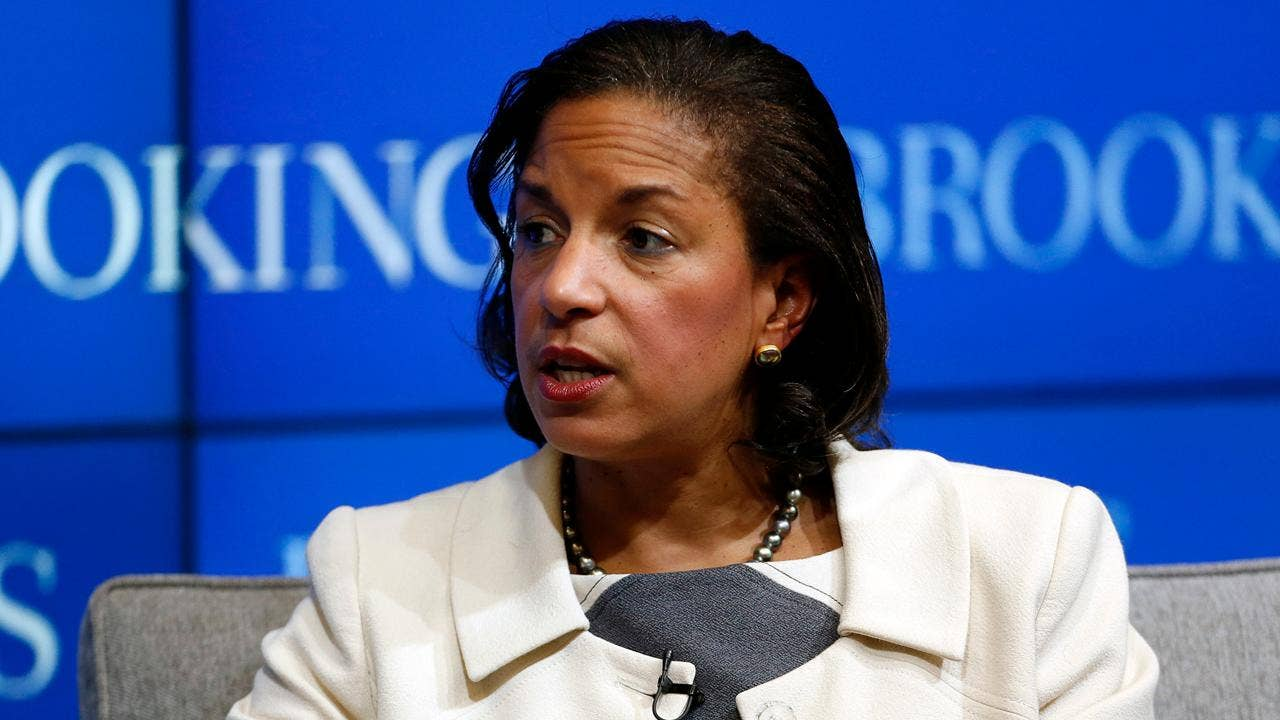 Senator calls Susan Rice Inauguration Day email on Russia 'disturbing'