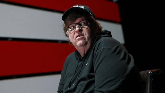 Michael Moore attends Russia-sponsored anti-Trump rally ...