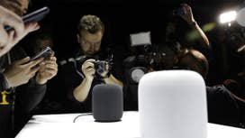Apple debuts HomePod