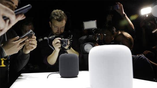 Apple debuts HomePod