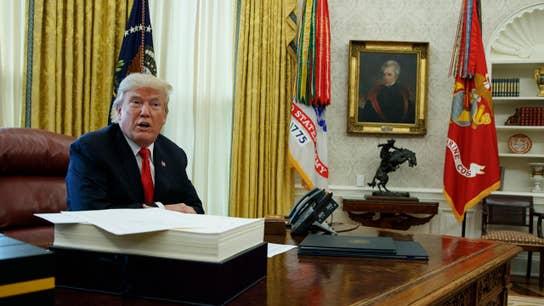 Trump team releases economic report, predicts 3% growth