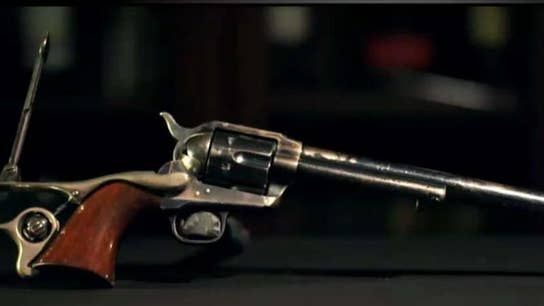 A big inheritance built on a collection of Colt Single Action guns