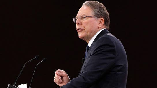NRA's LaPierre accuses Democrats of exploiting Florida shooting